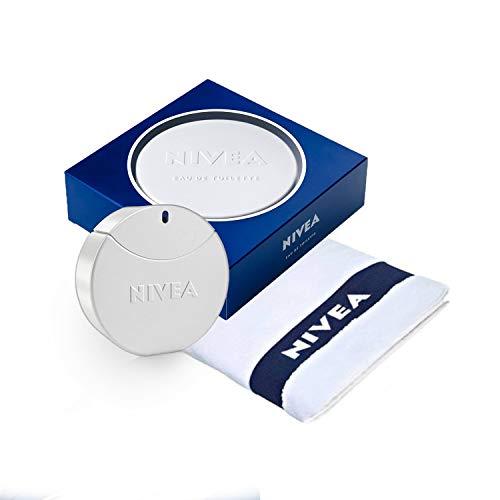 Nivea Creme Eau de Toilette Profumo da Donna, Flacone da 30 ml, incluso 1 asciugamano NIVEA