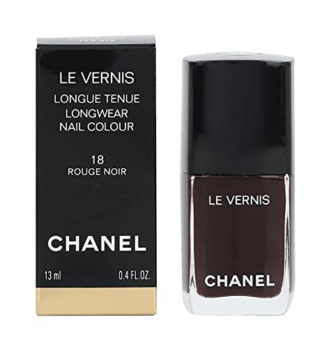 Chanel Le Vernis 18 Rouge Noir Smalto, Decorazione Unghie Manicure e Pedicure - 13 ml