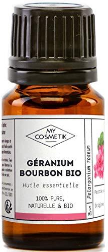 Huile essentielle de Géranium bourbon BIO - 10 ml