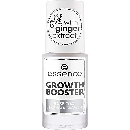 Growth Booster Base Coat Stronger Growth ESSENCE Base Smalto Rinforzante Donna 8 ml Pennellino