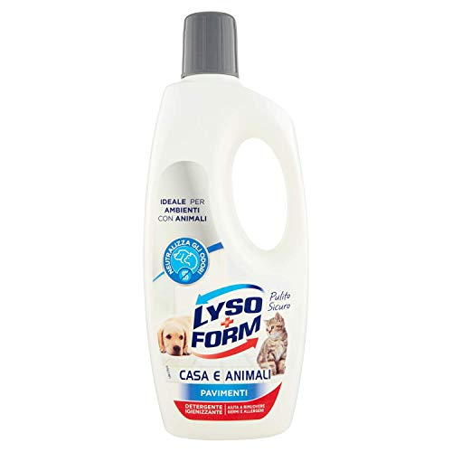 Lysoform Detergente Igienizzante per Superfici Abitate da Animali - 700 Ml, Pavimenti