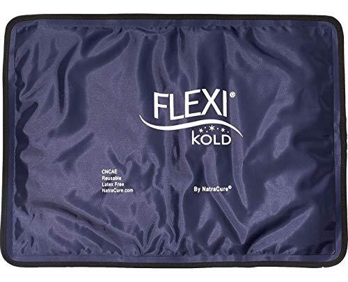 FlexiKold Gel Impacco Freddo (Taglia Standard: 26,5 cm X 36,8 cm) (A6300-COLD) - Pacchetto Professionale Di Ghiaccio