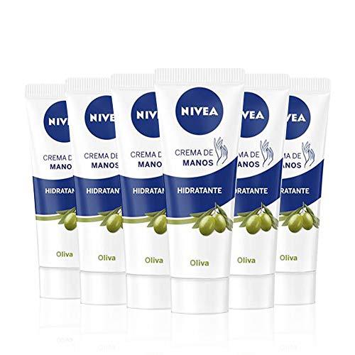 NIVEA NIVEA Crema di mani olio di Oliva–100ML–6pezzi