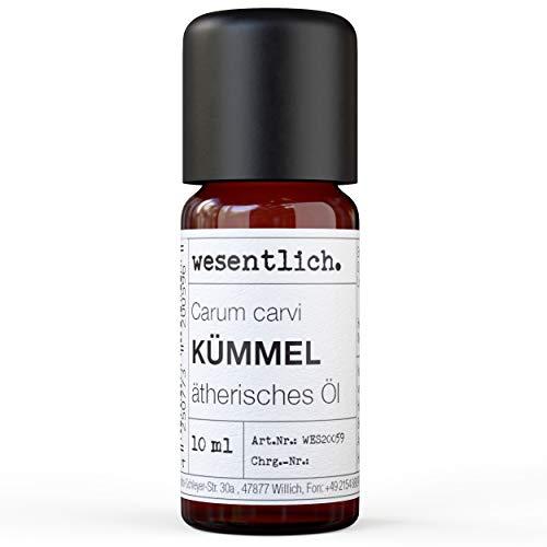 wesentlich. Olio essenziale puro al 100% in flacone di vetro (10 ml)