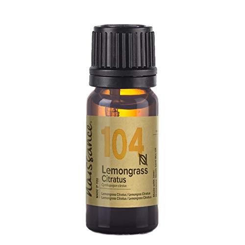 Naissance Olio di Lemongrass, Citratus - Olio Essenziale Puro al 100% - 10ml
