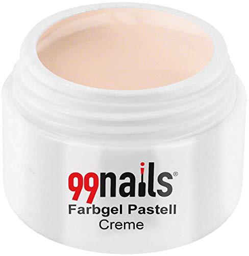 99nails, Farbgel Pastell, smalto per unghie colorato in gel, fotoindurente ai raggi UV, 1 pezzo (5ml) (etichetta in lingua italiana non garantita)