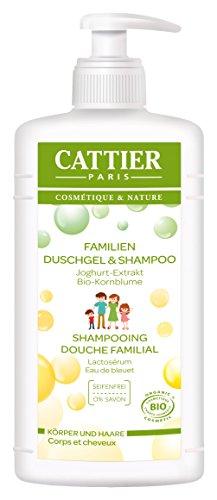 Famiglia Cattier gel doccia e shampoo, 1er Pack (1 x 500 ml)