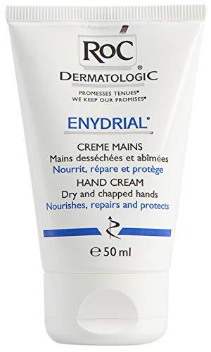 RoC - Crema dermatologica per mani enydrial - Per mani secche e screpolate - Protegge e ripara - 50 ml
