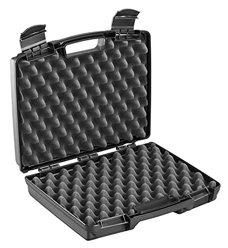 Plastica Panaro, Serie Advanced - Valigetta in Plastica per Imballaggio con Spugna Bugnata 170/33GPB Nera per Trasportare e Proteggere ogni Oggetto, Dimensioni Esterne 337x290x84 mm