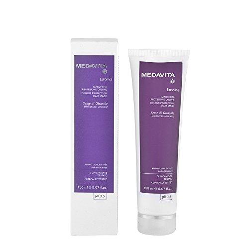 medavita luxviva maschera protezione colore colour protection hair mask 150 ml