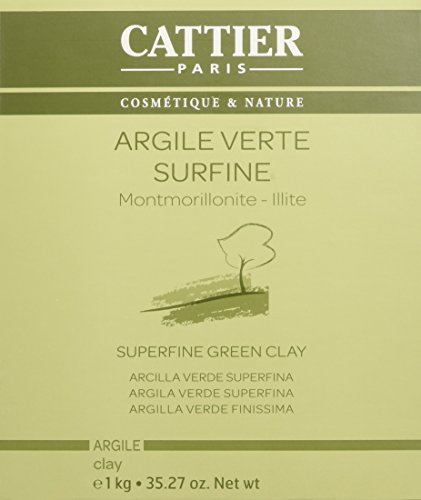 Cattier, Argilla verde super fine, 1 kg