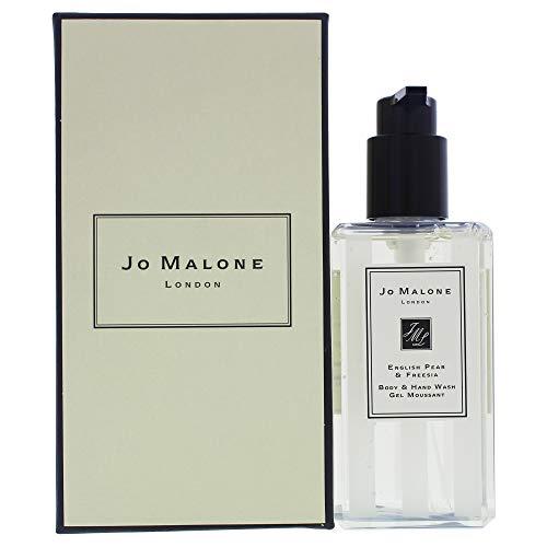 Jo Malone - sapone mani e corpo alla pera inglese e fresia, con pompetta, 250ml