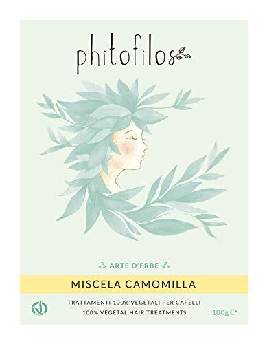 Phitofilos MISCELA CAMOMILLA 100gr Biondo dorato 100% Vegetale