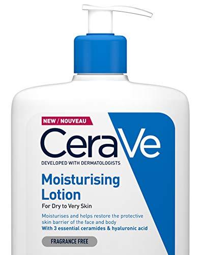 CeraVe, lozione idratante per pelle secca e molto secca, 473 ml