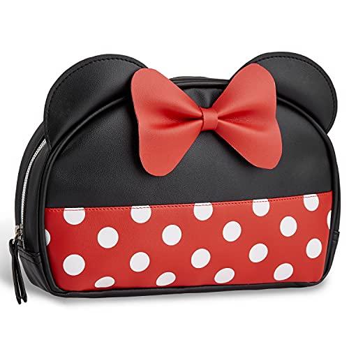 Disney Beauty Case Donna, Pochette Porta Trucchi Per Ragazza, Make Up Bag Ufficiale Disney Da Viaggio, Casa, Sport, Regali Donne E Ragazze