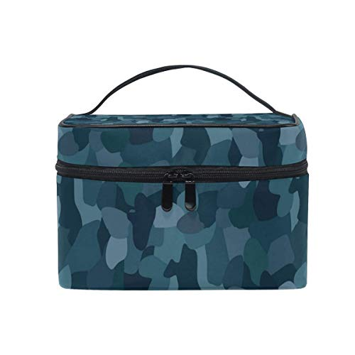 Borse per cosmetici Travel Makeup Cosmetic Bags Navy Desert Camo Toiletry Bags Makeup Suitcase For Women Travel Daily Carry
