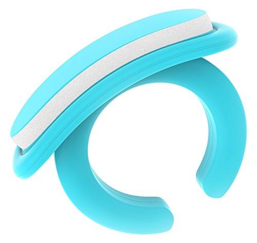 Bbebon - Set per la cura delle unghie dei neonati, pratico set per la cura dei neonati a partire da 0 mesi, idea regalo per future mamme, 18 lime usa e getta, colore: blu