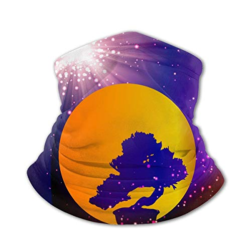 shenguang Kayak Silhouette Kids Neck Gaiters Maschera per il viso Summer Cooling Tube Bandane Fascia per capelli Sciarpa a copertura totale