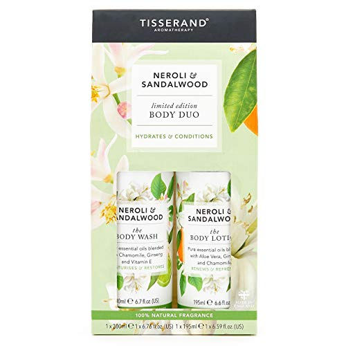 TISSERAND'The Body Duo' Neroli & Sandalo (Bagnoschiuma + Lozione Corpo)