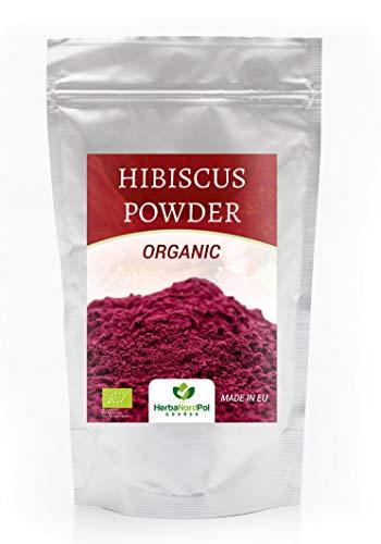 Ibisco Biologico Egiziano in polvere Hibiscus BIO Polvere, 500micrones POWDER 250GR