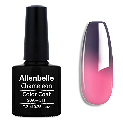 Allenbelle Smalto Semipermanente Camaleonte Nail Polish UV LED Gel Unghie 7.3ml 5751