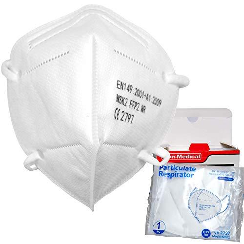 Mascherina FFP2/K95 10 pezzi busta singola Certificate CE 5 Strati Altissima Capacità Protettiva