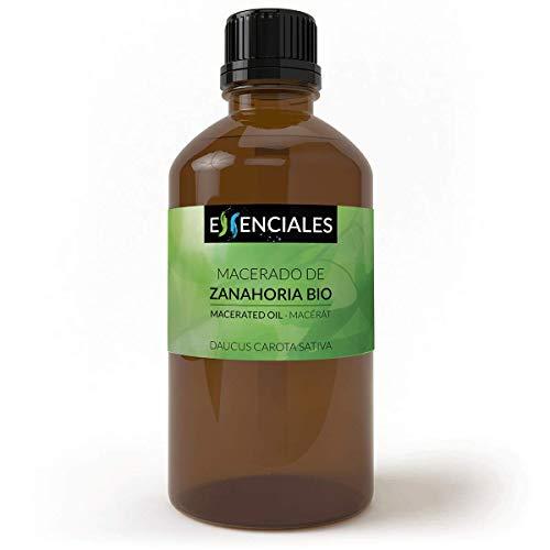 Essenciales – Olio Macerato di Carote BIO, 100% Naturale ed Ecologico, 100 ml   Macerato di Daucus Carota