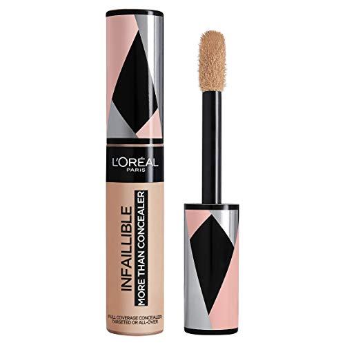 L'Oréal Paris Correttore Liquido Infaillible More Than Concealer, Effetto Naturale, Cachemire (327), 11 ml