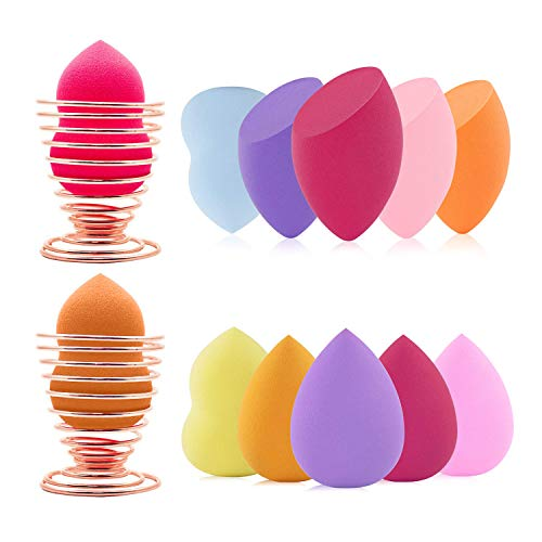 Spugnette Make up per Fondotinta,Beauty Sponge Blender,Spugnette Trucco Fondotinta,Spugnette Trucco Beauty Blender,Spugnetta Make up Viso,Fondotinta Spugnetta