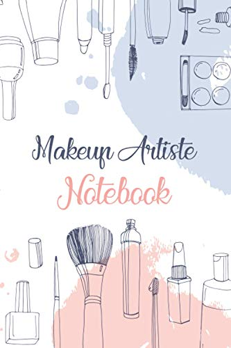 """Makeup Artists: Basic Face Charts To Practice Makeup 6"""" x 9"""" Professional Blank Face Chart for Make-up Artist (120 Pages) for Beauty School Students & Makeup Artists"""