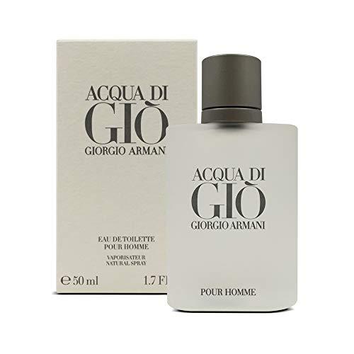 Giorgio Armani Acqua di Giò Eau de Toilette, Uomo, 50 ml