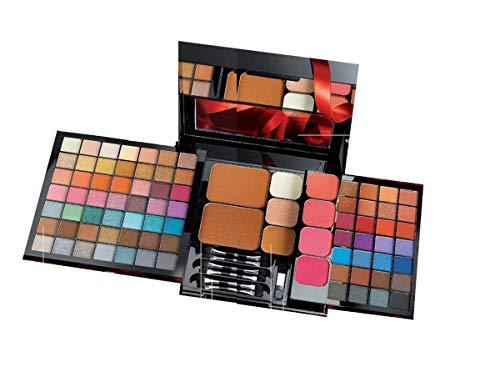 Avon Pro Make Up Palette - Una Palette Make Up Multifunzione con 86 Tonalità, in finiture Mat e Metalliche