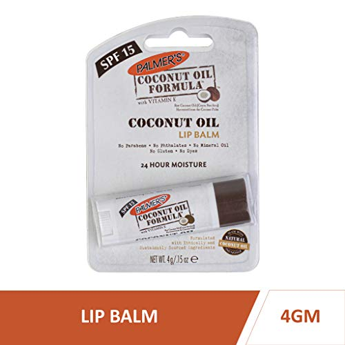 Palmer's 7068144 COF - Balsamo idratante per labbra con olio di cocco, 4 g, 1 pezzo