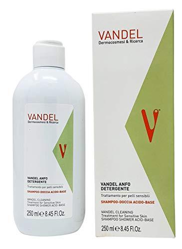Vandel Anfo Detergente Trattamento Antisettico per Pelle e Capelli Con Acido Undecilenico 250ml