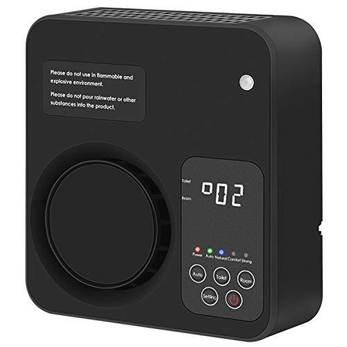 Purificatore d'aria per la casa, ionizzatore, generatore di ozono, deodorante per camera da letto, soggiorno, bagno, ufficio (versione in lingua inglese)