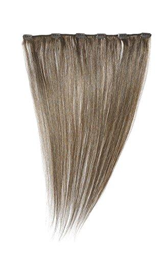 American Dream - Extension a clip per capelli umani a fissaggio rapido, 45,7 cm, colore: Marrone topo