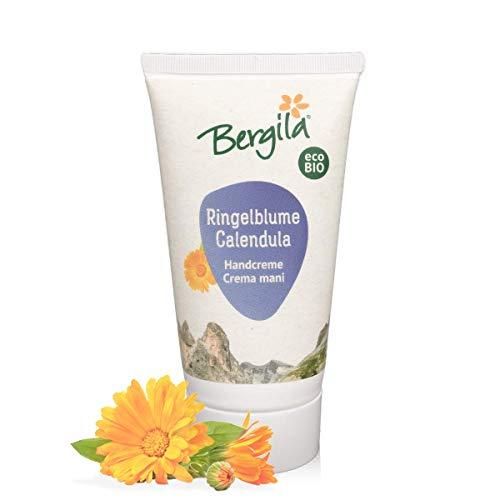 Bergila Crema mani alla calendula 75 ml ECOBIO - 100% naturale di materia prima biologica - qualità controllata e certificata