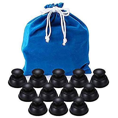 Massaggio Cupping Therapy Set Anticellulite Vetro Silicone, Anticellulite Massaggiatore Elettrico Vacuum Professionale, Viso Massaggi Therapy, Coppettazione Massaggiatore Cellulite Sottovuoto