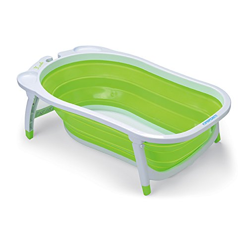 Supporto Sedile Bagnetto,Qiundar 2 Pcs Cuscino Vasca Bambino Neonato Vasca da Bagno Baby Bath Seat,per Bambini da 0 a 3 Anni Rosa,Blu