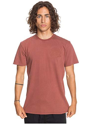 Quiksilver Blora SS Tee - T-Shirt da Uomo - Colore Henna - Taglia M