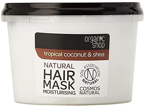 Organic Shop Maschera Capelli Cocco e Karité - 250 ml