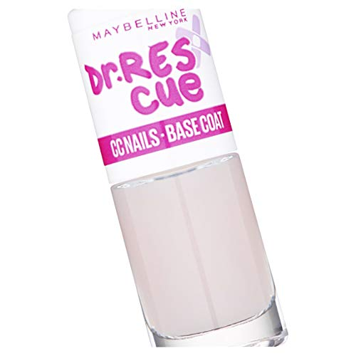 Maybelline New York Dr Rescue Cc Nails Base Sbiancante, 6.7 ml