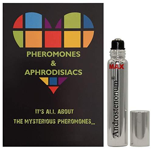 ANDROSTENONUM MAX 100% feromone per uomo roll-on da 8 ml feromoni umani in regalo per lui attirano le donne Afrodisiaci molecole extra forti