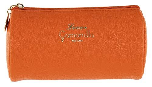 Camomilla Milano-Busta necessaire S love arancio