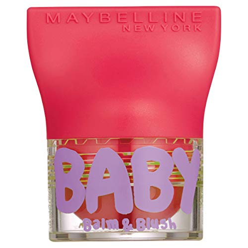 Maybelline New York Baby Lips Balm&Blush Balsamo Labbra e Blush, Juicy Rose 3 (pacco da 2)