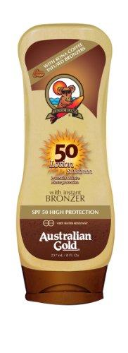 Australiana crema solare con SPF 50 oro concia Agente 237 ml