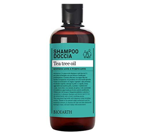 Shampoo-Doccia Tea tree oil ecobio 500 ml