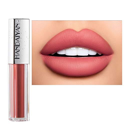 ESAILQ Labbro opaco di lucentezza del rossetto di trucco del rossetto opaco del velluto liquido duraturo impermeabile rossetto