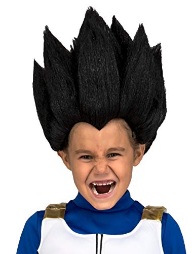 My Other Me Me vegeta Dragon Ball parrucca, Multicolore (230121)