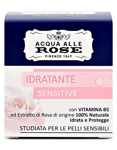 Acqua alle Rose Crema Idratante, Pelli Secche o Sensibili, 50 ml